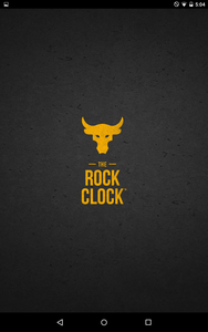 THE ROCK CLOCK Splash